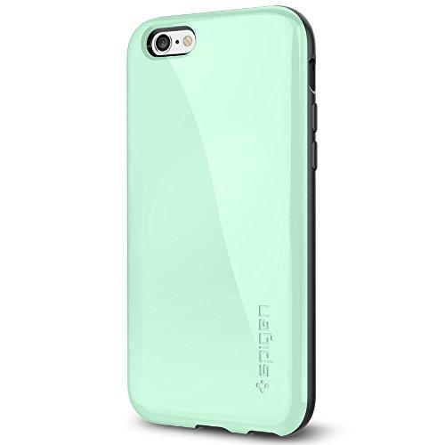 iPhone 6 ケース Spigen [ 衝撃吸収+グリップ感 ] Apple iPhone 4.7 (2014) カペラ 電磁波軽減 プレート アイフォン6 (国内正規品) (ミント 【SGP11049】)