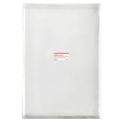 透明OPP袋 テープ付 310×435+フタ40mm ≪A3用≫ 30ミクロン 【100枚】