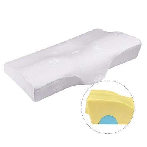 枕 安眠 人気、 人間工学設計 低反発まくら 首・頭・肩をやさしく支える健康枕 いびき防止 頸椎サポート 頭痛改善 肩こり対策 快眠 洗える ピロー(X1)