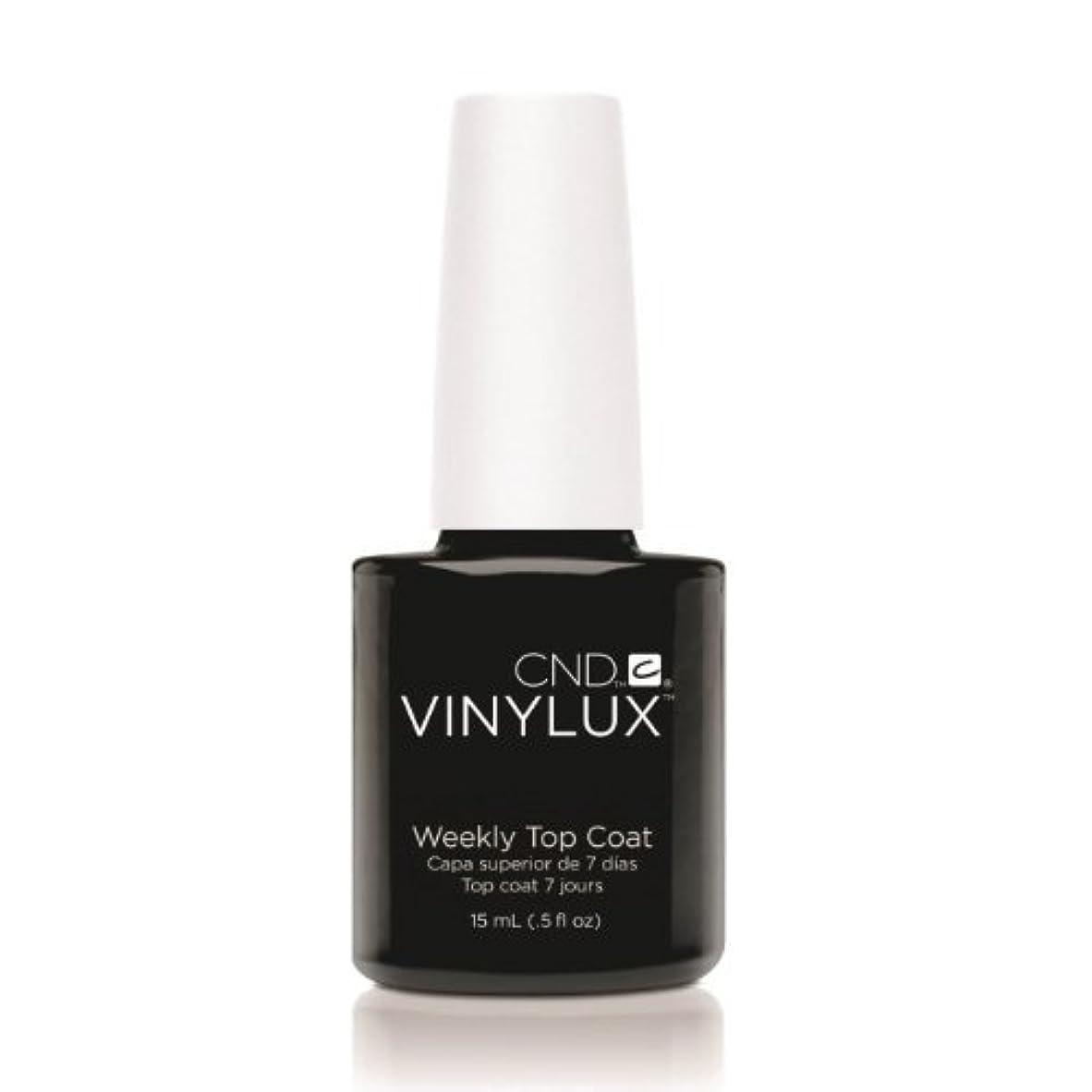 フロンティア滑り台作者(3 Pack) CND VINYLUX Weekly Top Coat - Clear (並行輸入品)