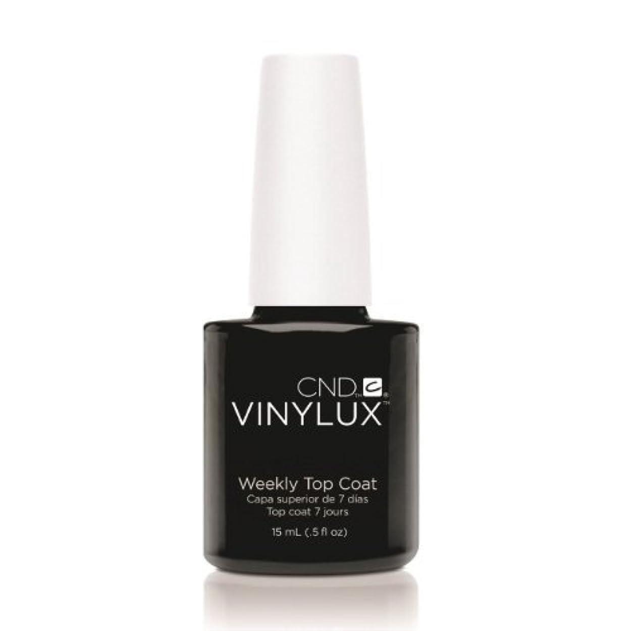 政治輝くスプーン(3 Pack) CND VINYLUX Weekly Top Coat - Clear (並行輸入品)