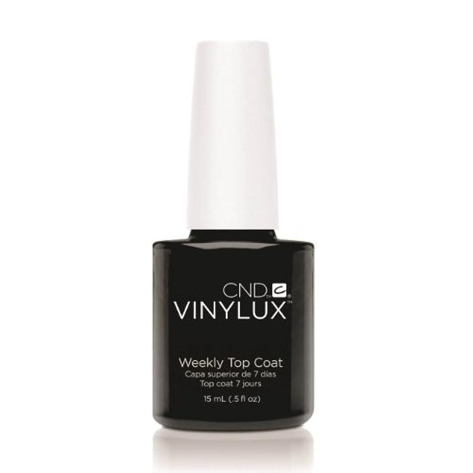 悪用快い貸し手(3 Pack) CND VINYLUX Weekly Top Coat - Clear (並行輸入品)