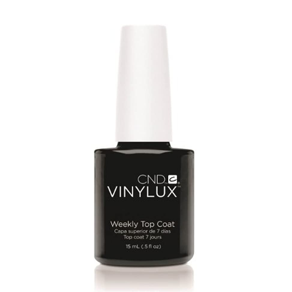 章強制第四(3 Pack) CND VINYLUX Weekly Top Coat - Clear (並行輸入品)