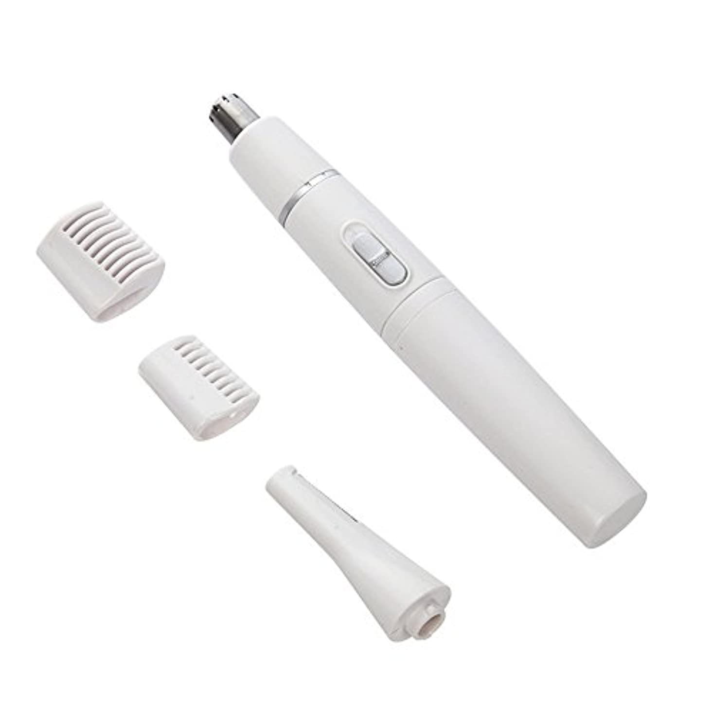 カジュアルサイレント縫うEGAO 耳毛カッター 鼻毛カッター 髭剃り 4in1 多機能 シェーバー USB 内刃水洗い