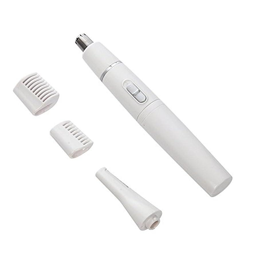 対称食物工夫するEGAO 耳毛カッター 鼻毛カッター 髭剃り 4in1 多機能 シェーバー USB 内刃水洗い