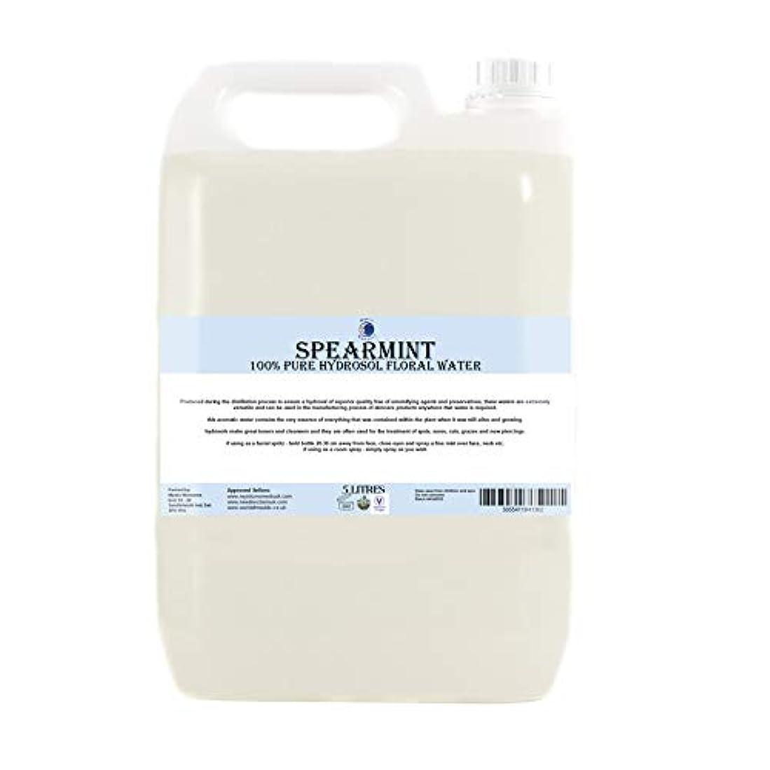 再びドロップニックネームSpearmint Hydrosol Floral Water - 5 Litres