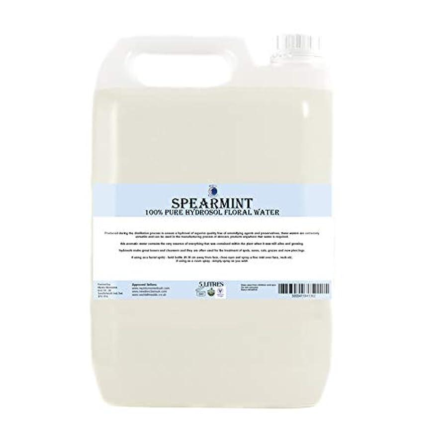 編集する弱い空虚Spearmint Hydrosol Floral Water - 5 Litres