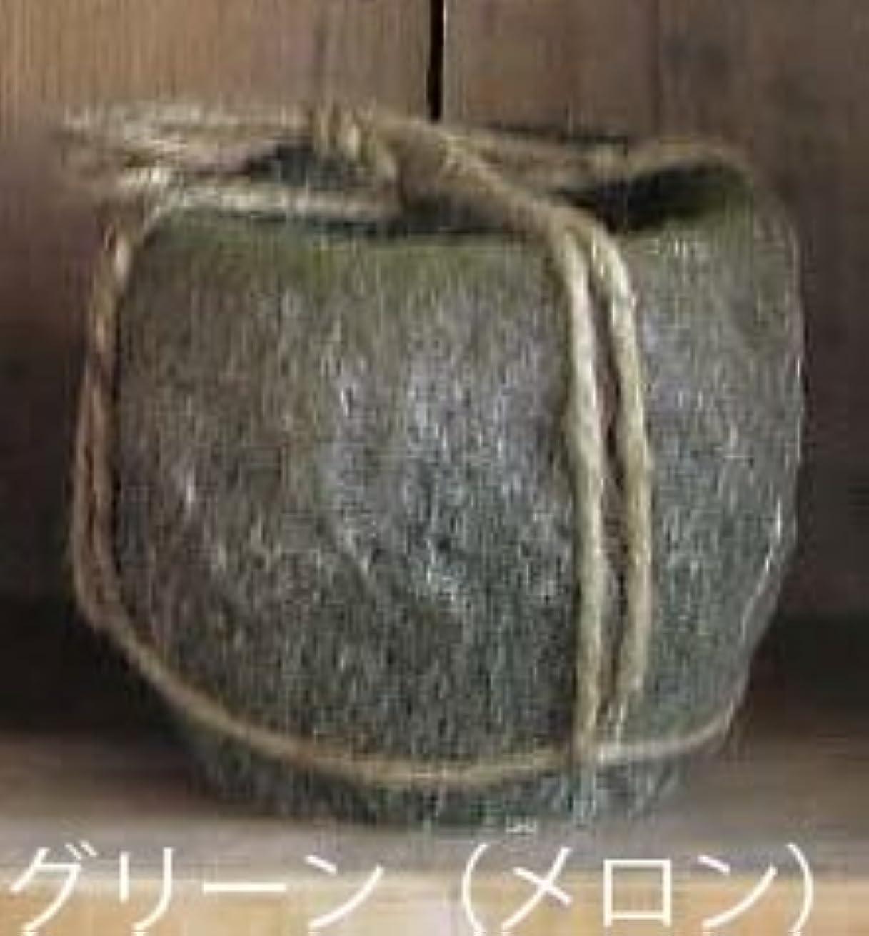 刺繍ピジンシャイ[スパイス] CALDERA CANDLE L アロマキャンドル SEE701GR メロン