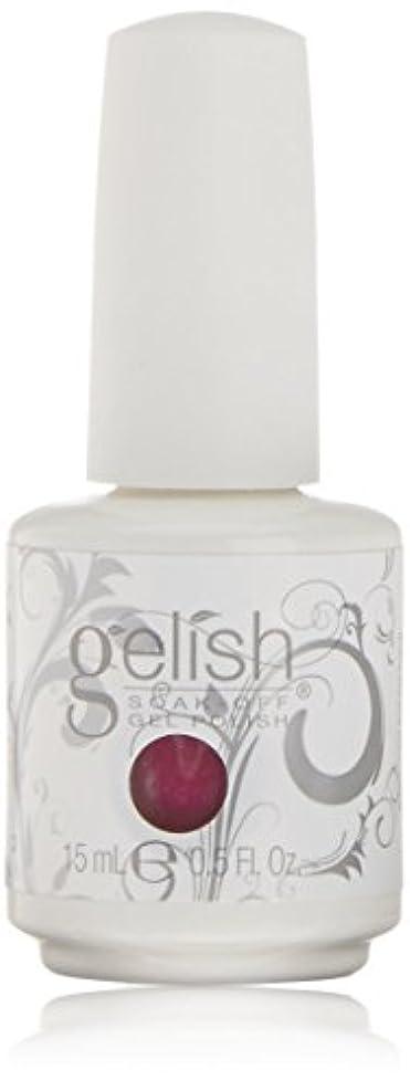 高音耐える顎Harmony Gelish Gel Polish - Kung Fu-chsia - 0.5oz / 15ml