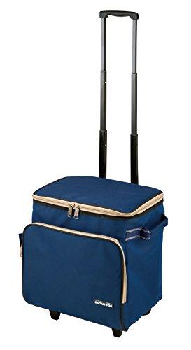 キャプテンスタッグ(CAPTAIN STAG) 保冷バッグ クーラーバッグ 【容量25L】 キャリー型クールソフトバッグ デリス UE-532