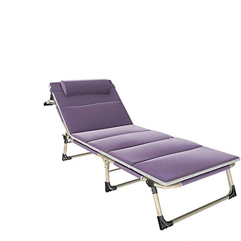 焦がす電気レジSAKEY 折りたたみベッド チェアーベッド 簡易ベッド 4段階調整 通気性 枕付き コンパクト アウトドアチェア リクライニングベッド 組み立て簡単 アウトドア キャンプ ビーチ 室内 仮眠?残業?防災用
