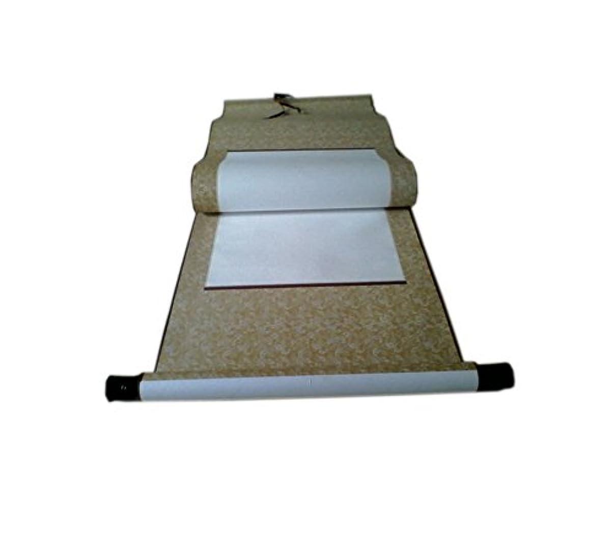 コンベンション突破口トラクター66インチの古典的な空白の書道は、紙ぶら下げスクロール、1対のランダムな色をスクロールします