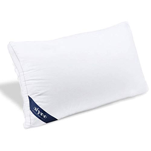 aiyoo 快眠枕 安眠 高反発 人気 肩こり 横向き 洗える 高さ調整 ホテル仕様 通気性 安眠枕 立体構造 調整可能 柔らかい 43x63cm ホワイト