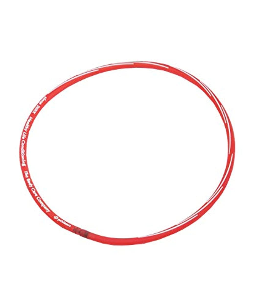 モーション正確に綺麗なファイテン 磁気ネックレス RAKUWAネックS スラッシュラインタイプ TG764152 クリアレッド 45