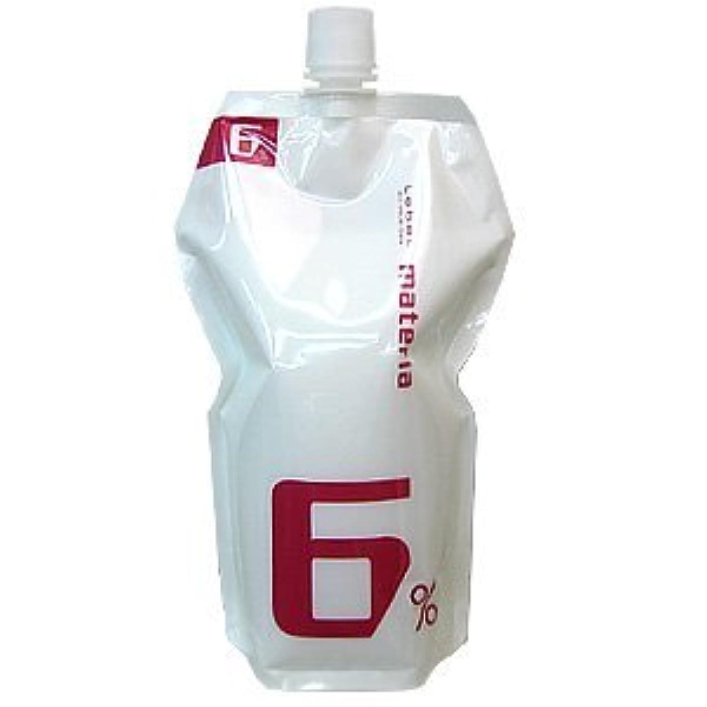 選ぶ乳白ボーナスルベル マテリア インテグラルライン オキシ 1000mL 6%(ヘアカラー2剤) 医薬部外品