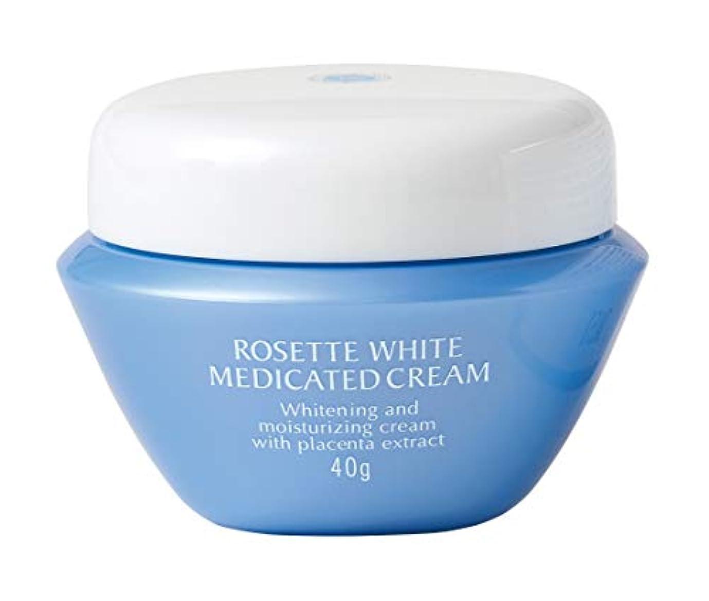 割合クルー不規則なロゼットホワイト薬用クリーム [医薬部外品] 40g