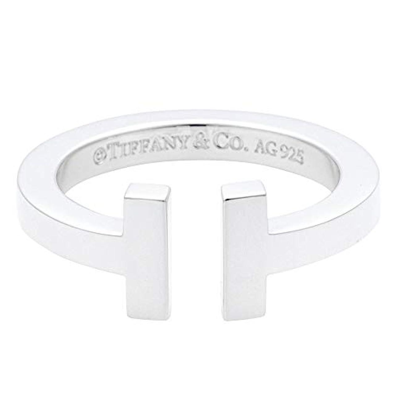 レパートリー条件付き粘性の[ティファニー] TIFFANY スターリングシルバー ティファニー T スクエア リング 指輪 【並行輸入品】 33429746 日本サイズ11号 (USサイズ6号)