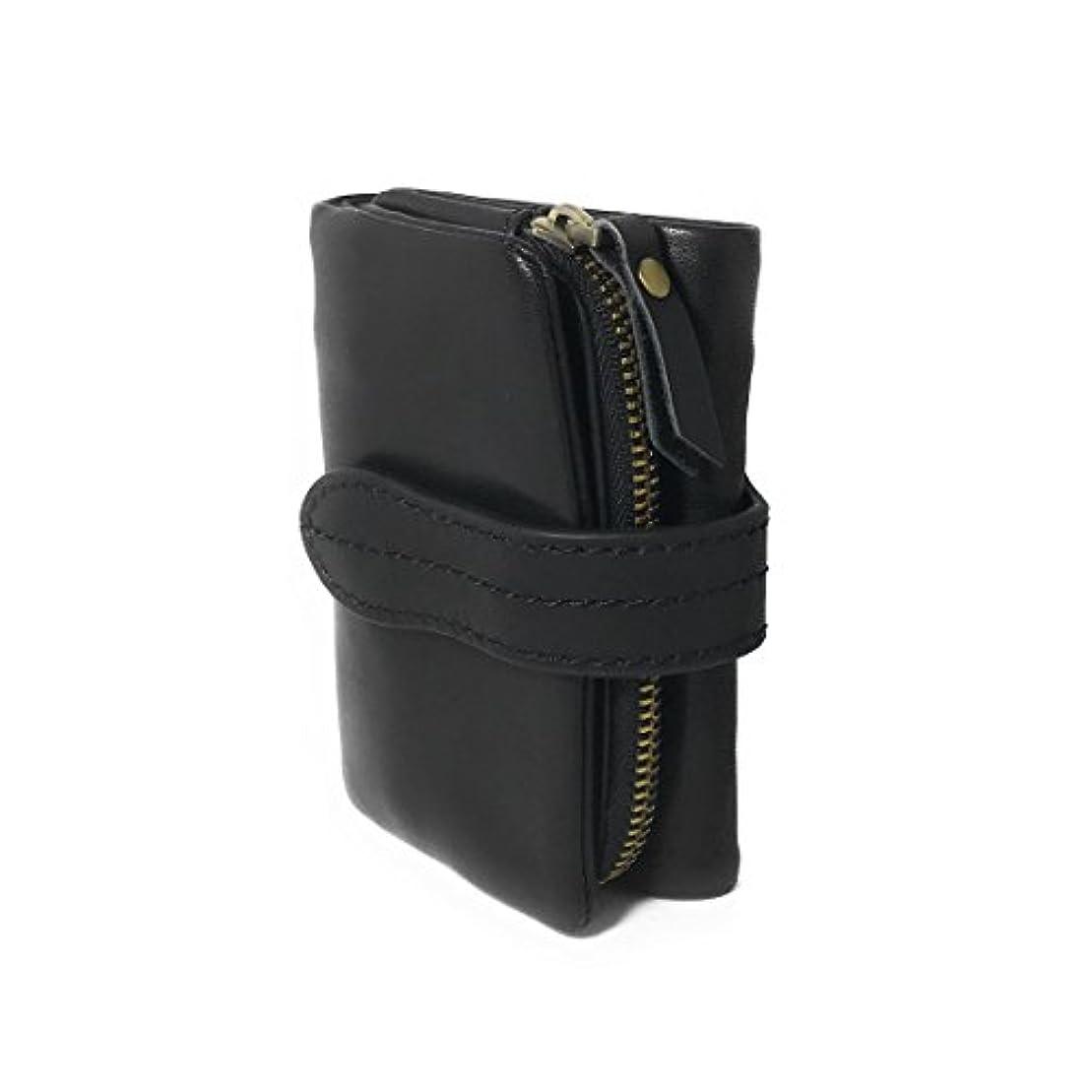 測定ペースト連結する[リグラル] 財布 メンズ レディース 三つ折り ソフト レザー コンパクト 本革