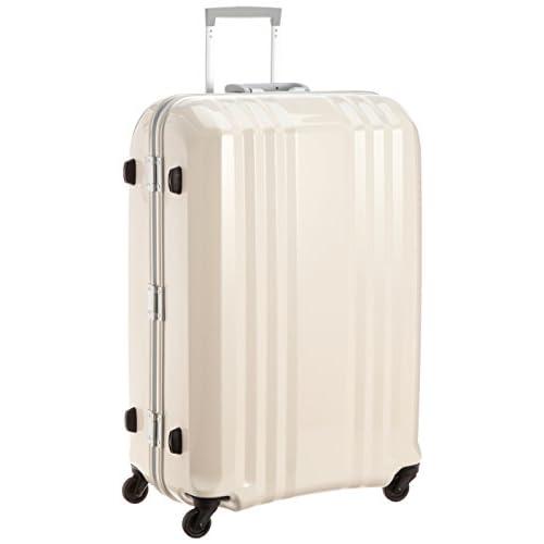 [エー・エル・アイ] A.L.I スーツケース デカかる2 /75cm 90L 5Kg シリアルナンバー管理 TSAロック付 MM-5688 SKIN (ホワイトスキン)