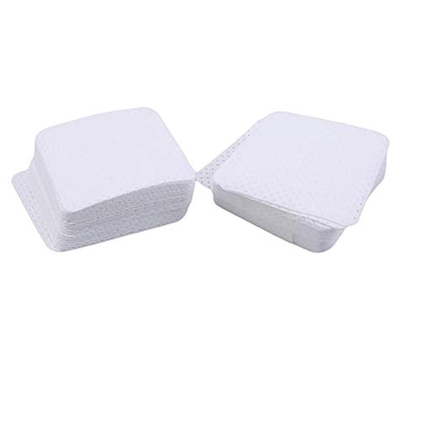 国際効率的差別的WEIHEEネイルジェルポリッシュリムーバーセットネイルワイプコットンパッドソフト吸収マニキュアメイクアップ化粧品パッド