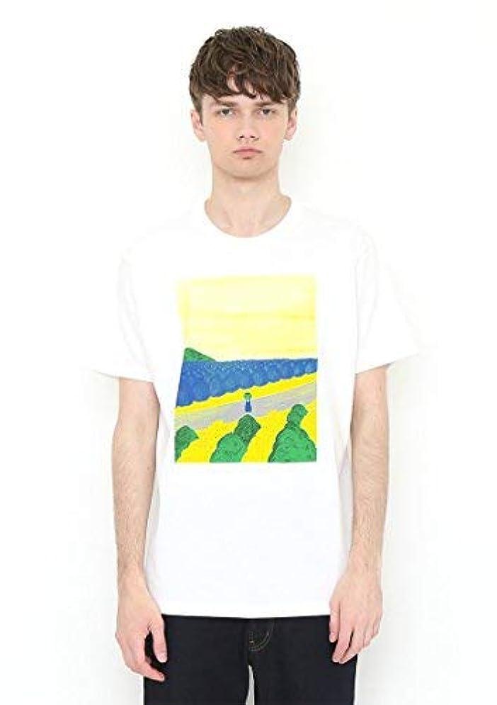 段落気がついてセレナ(グラニフ) graniph コラボレーションTシャツ/キャベツくん (長新太) (ホワイト)
