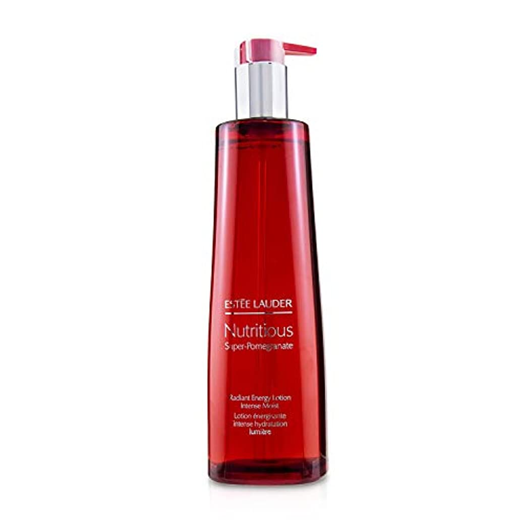 パテ緩める腐敗エスティ ローダー Nutritious Super-Pomegranate Radiant Energy Lotion - Intense Moist (Limited Edition) 400ml/13.5oz並行輸入品