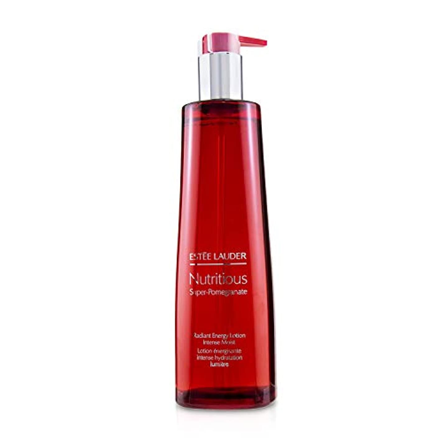 スーパーマーケットスカルクガイダンスエスティ ローダー Nutritious Super-Pomegranate Radiant Energy Lotion - Intense Moist (Limited Edition) 400ml/13.5oz並行輸入品