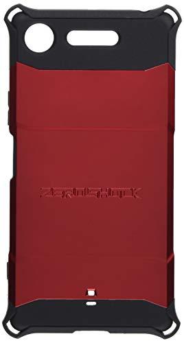 エレコム Xperia XZ1 ケース SO-01K(docomo) / SOV36(au) 衝撃吸収 【 落下時の衝撃から本体を守る 】 ZEROSHOCK スタンダード レッド  PM-XZ1ZERORD