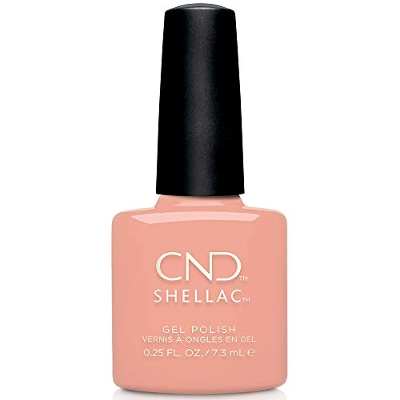 結晶閉じ込める肘CND Shellac - Treasured Moments Fall 2019 Collection - Baby Smile - 0.25oz / 7.3ml