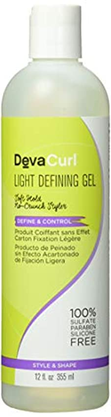 直径最悪熱心Deva Curl AnGel Light Hold Defining Gel 12 oz