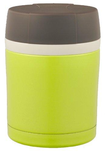 ドウシシャ フードポット 保温保冷機能付 300ml レシピ付 グリーン DFC-300GR