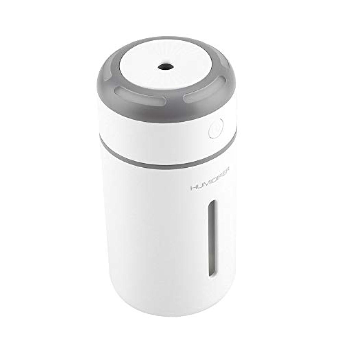 公園勘違いするゴミ箱を空にする携帯用拡散器、車のオフィスのためのUSBケーブルが付いている超音波加湿器7色LEDライト拡散器