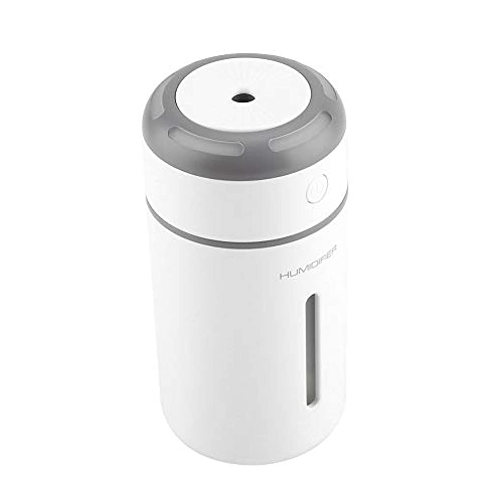 変更可能アーティファクト眉携帯用拡散器、車のオフィスのためのUSBケーブルが付いている超音波加湿器7色LEDライト拡散器