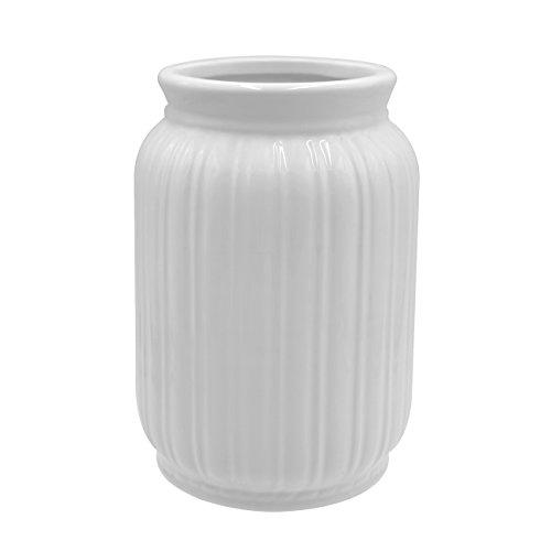 Teagas生け花白い花瓶華道用陶器花器ファッションでシンプルなデザインなフラワーベース北欧風の花瓶玄関卓上リビングに適用おしゃれなインテリア親友・家族への贈り物