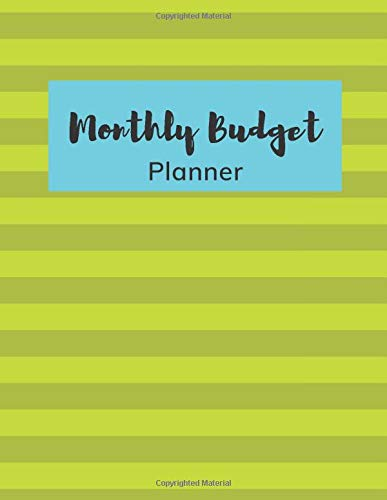 Monthly Budget Planner: New Budget Planning Over Month, Home Budget Over Week,Expense Tracker,Bill Tracker Organizer, Planning W