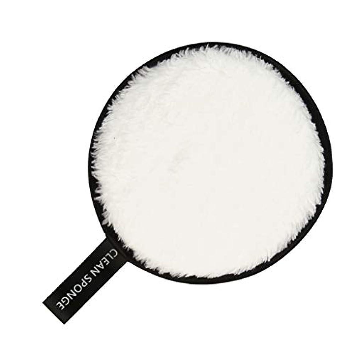 重要な役割を果たす、中心的な手段となる晴れ高原CUTICATE 洗顔スポンジ パフ フェイススポンジ 洗顔パフ 全6色 - 白
