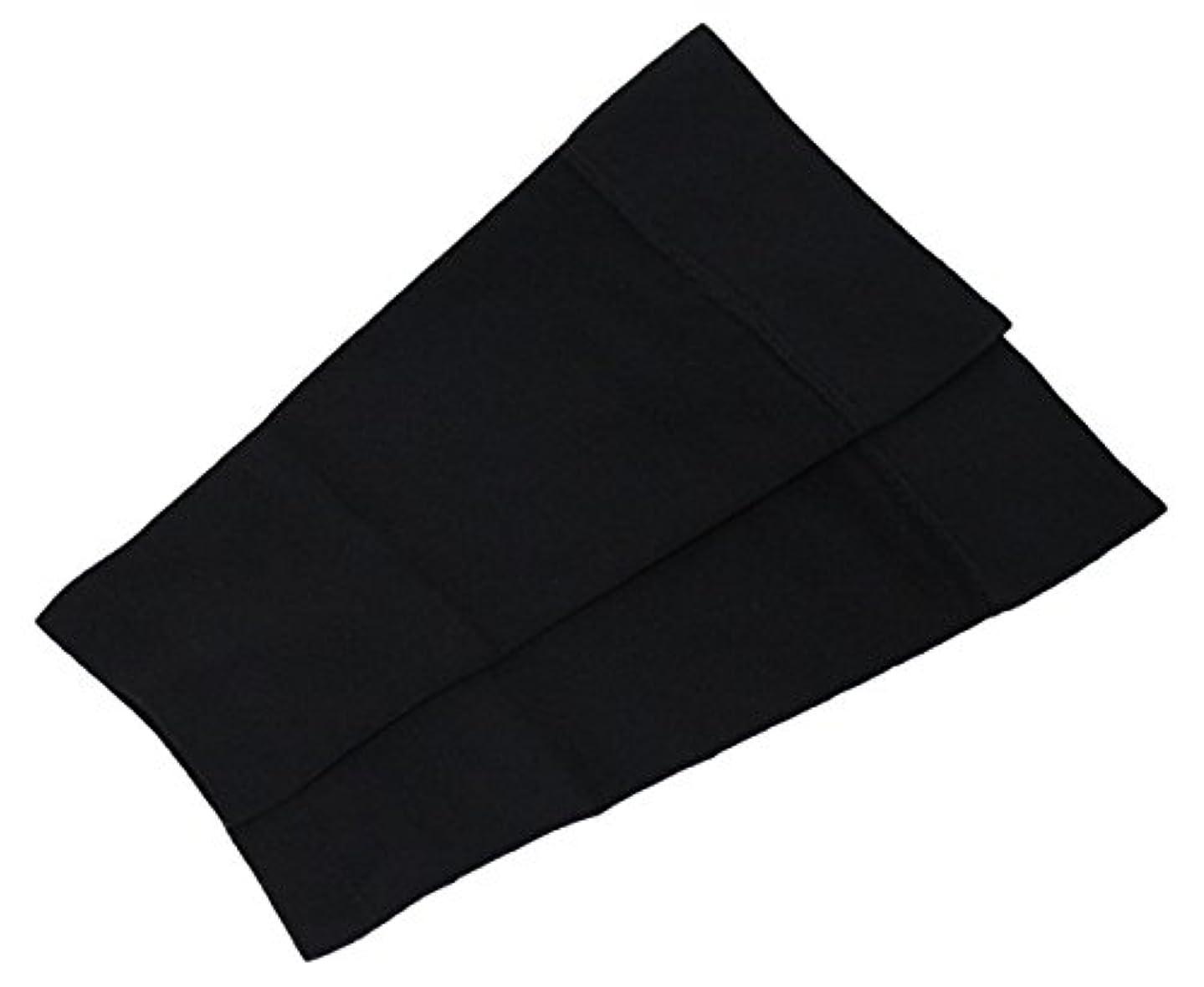 ひまわり人柄誤解を招くギロファ・ふくらはぎサポーター・メモリー02 ブラック Mサイズ