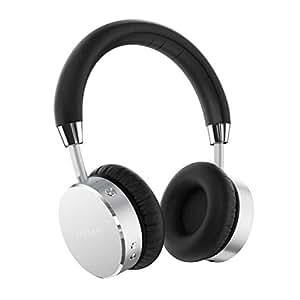 Satechi アルミニウム Bluetooth ワイヤレス ヘッドホン (有線も可) 低音強調(シルバー)