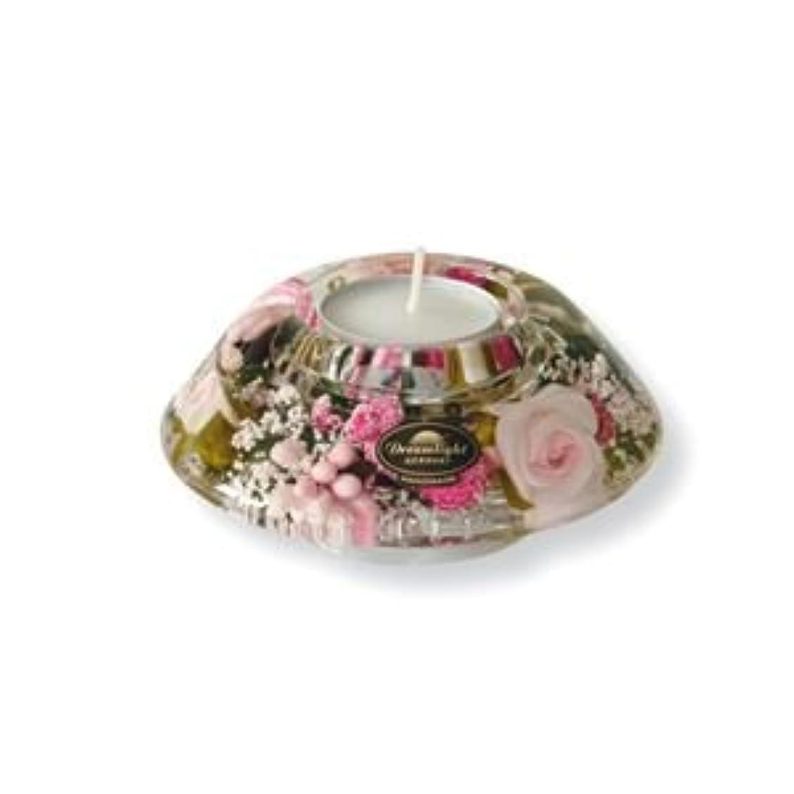 シュリンク一元化するお茶ドリームライト キャンドルホルダー クラウン リトルローズ CDD3997