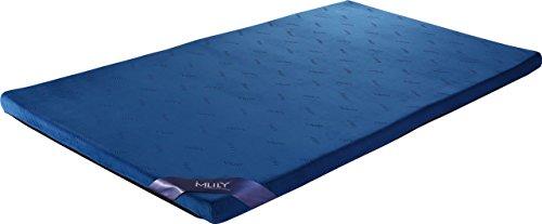 腰痛におすすめ 【MLILYエムリリー】マットレス トッパー 優反発&高反発の二層構造 シングル 厚さ5cm