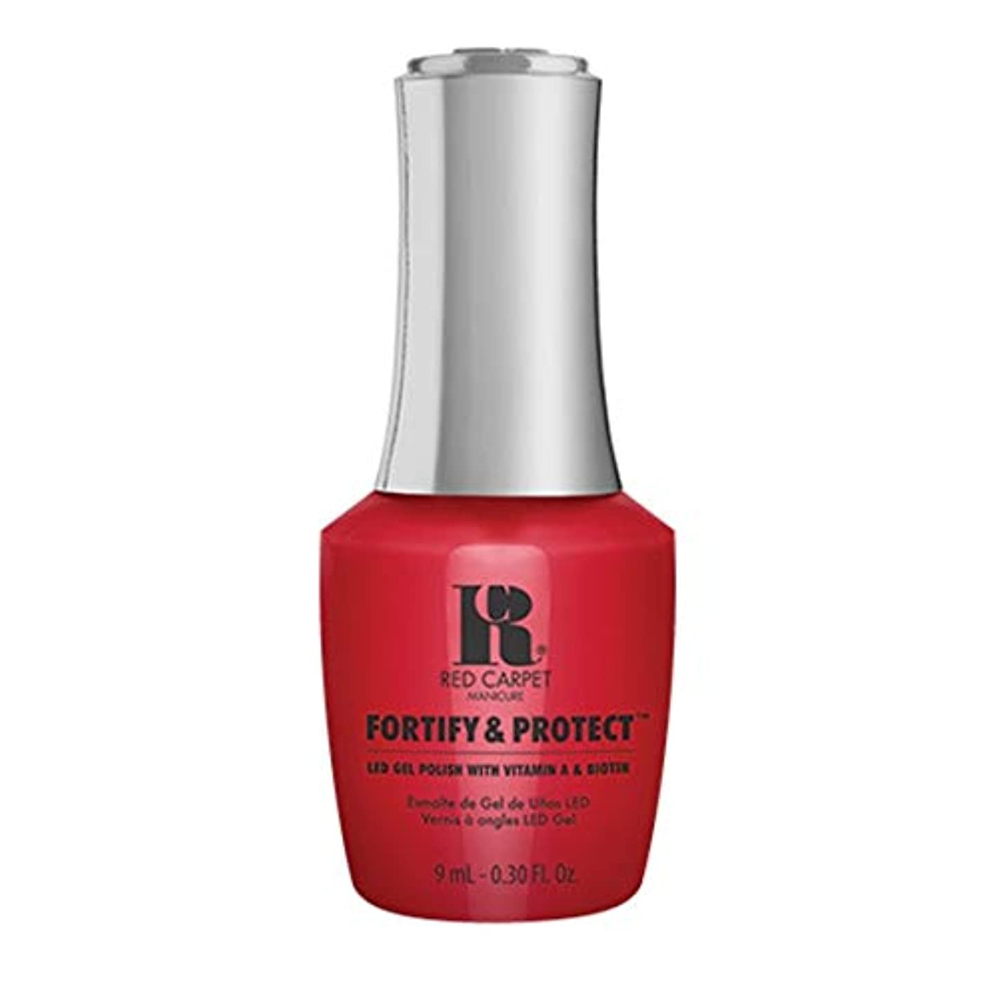 アーサーコナンドイル早熟思慮深いRed Carpet Manicure - Fortify & Protect - On The Big Screen - 9ml / 0.30oz