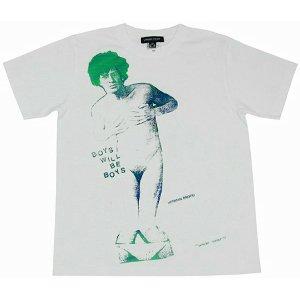 Size【S】初期復刻手刷りT 3【白緑】 アンダーカバー