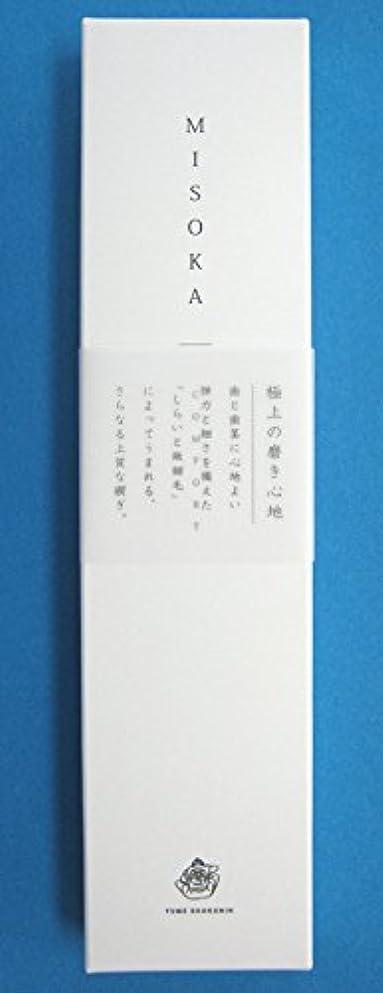 もっともらしい冷ややかなチョークMISOKAコンフォート歯ブラシ3本セット(アソート)