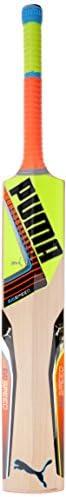 Puma, Cricket, Evospeed 1.5 English Willow Cricket Bat 2016, Lava Blast/Safety Yellow, Size 5