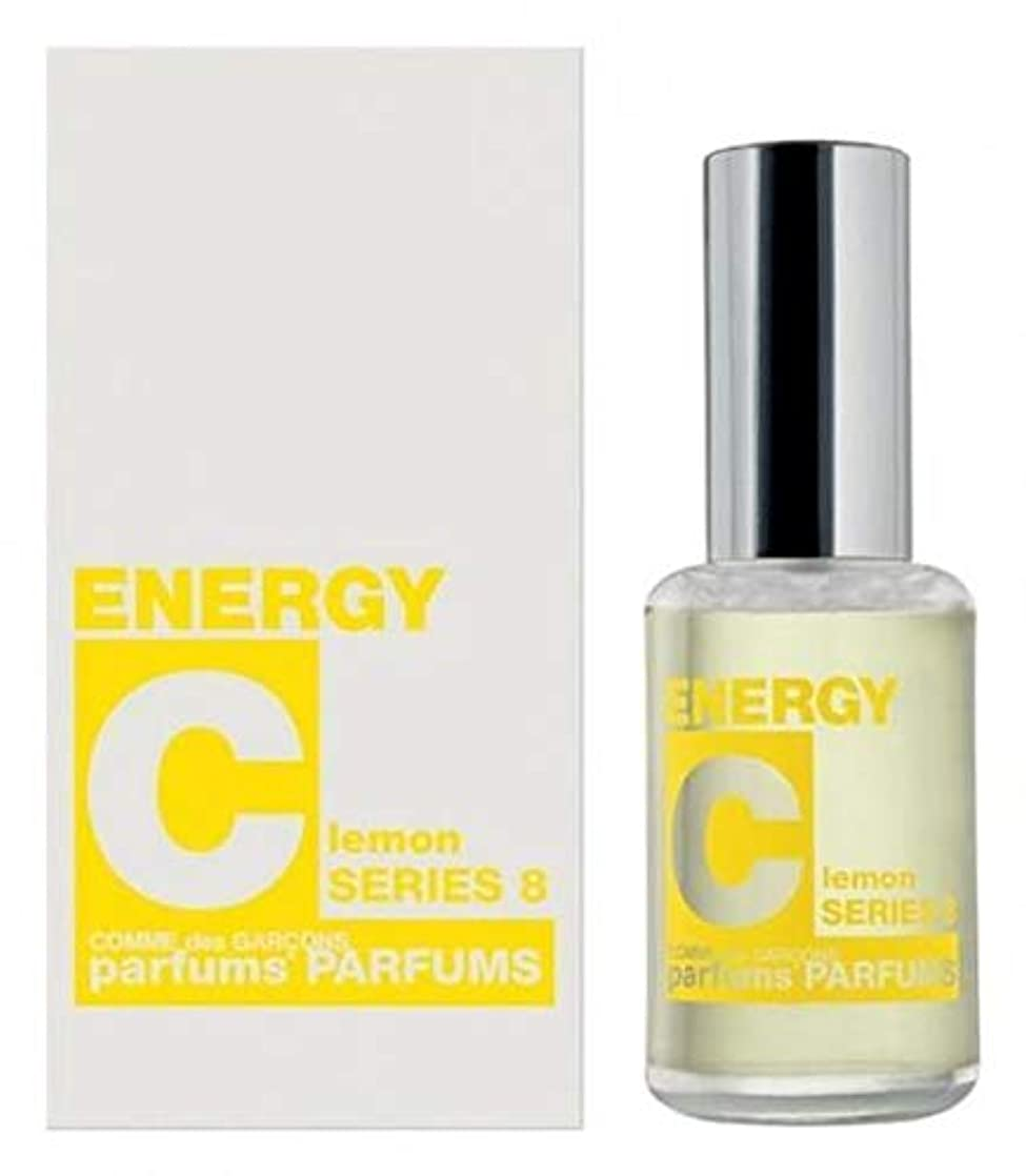 社会敬歯車Comme des Garcons Energy C series 8: Lemon Eau De Toilette 1 oz / 30 ml New In Box.