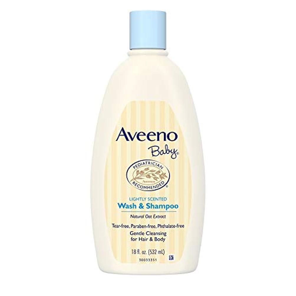 アンプ良心的バウンスAveeno Baby Wash & Shampoo 18 oz.