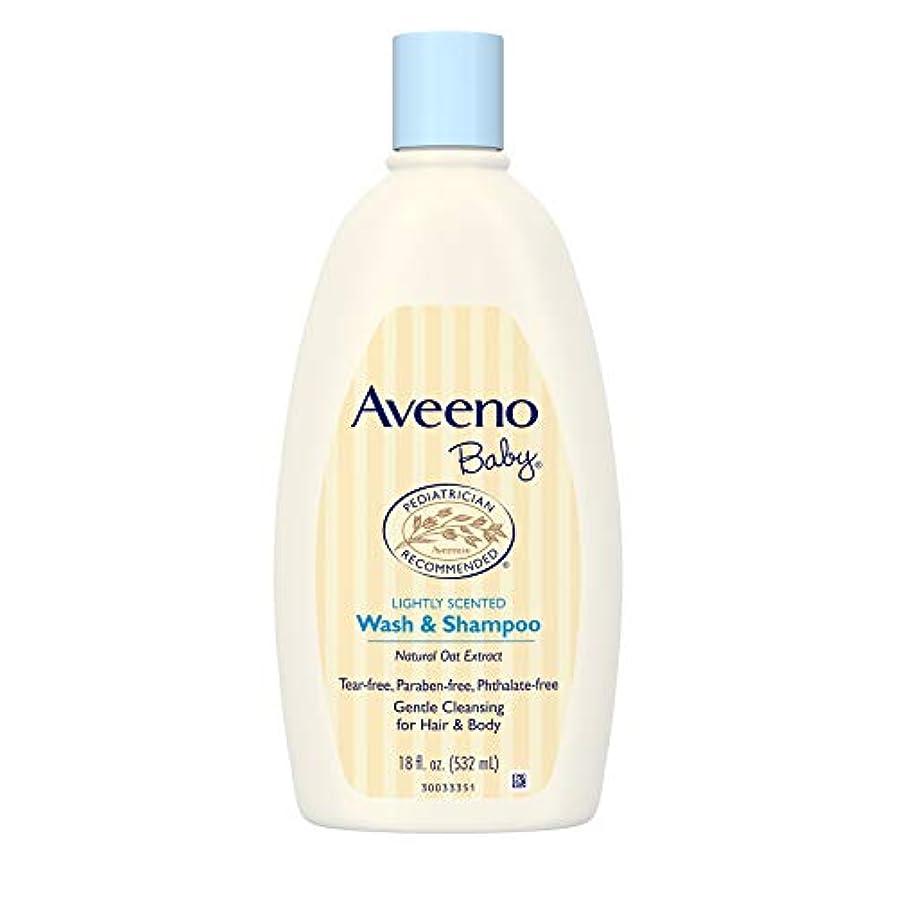 松の木クローゼット枠Aveeno Baby Wash & Shampoo 18 oz.