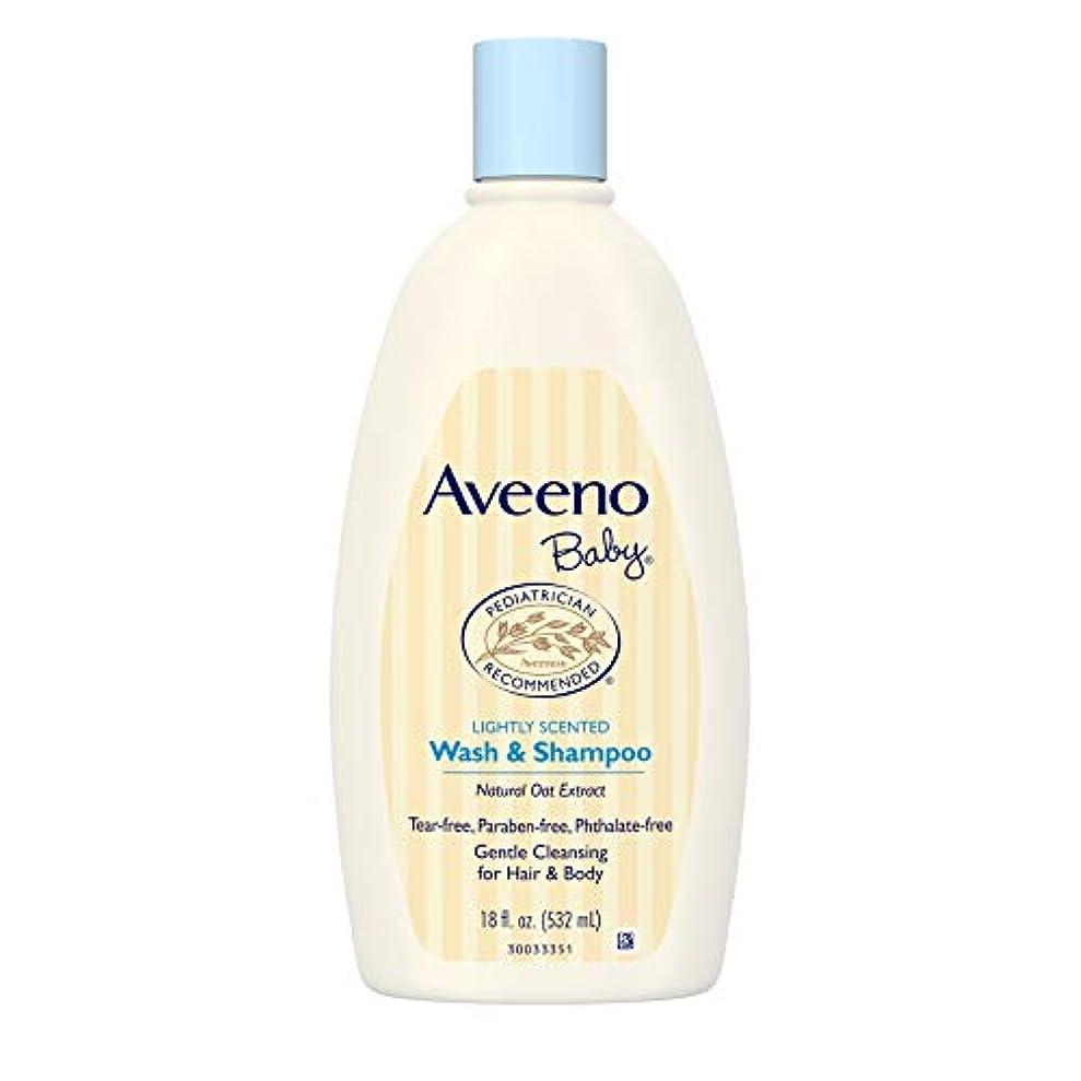 死んでいる旅行暴行Aveeno Baby Wash & Shampoo 18 oz. [並行輸入品]