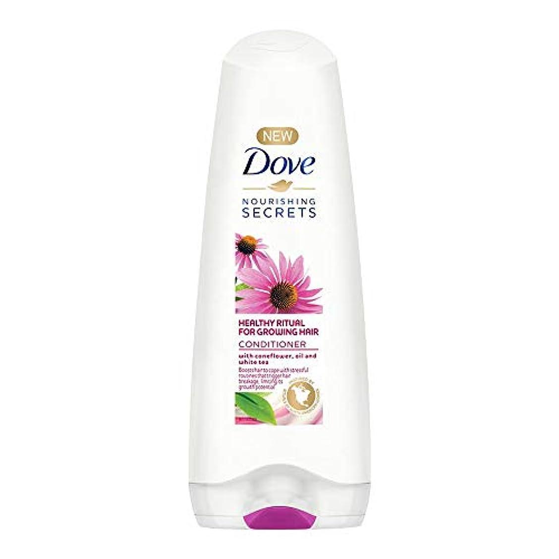 算術獣求めるDove Healthy Ritual for Growing Hair Conditioner, 180 ml (Coneflower, Oil and White Tea)