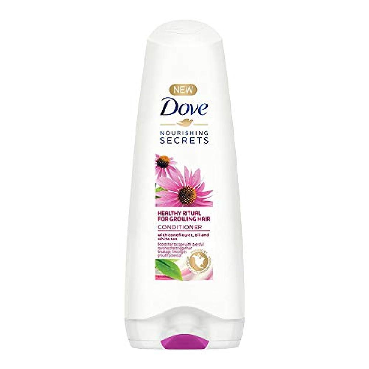 写真を撮る積分不従順Dove Healthy Ritual for Growing Hair Conditioner, 180 ml (Coneflower, Oil and White Tea)